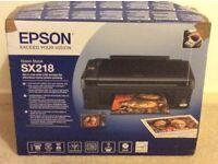 Epsom Stylus SX218 Printer, Scanner, Copier