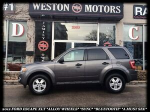 2012 Ford Escape XLT *ALLOY WHEELS *SYNC *BLUETOOTH