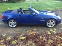 MERCEDES SLK 230 KOMPRESSOR AUTO HARD TOP CONVERTIBLE WITH FULL MOT HISTROY