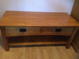 Solid oak coffee table *offers*