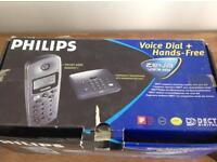 Phillips zenia voice 6626 triple phone