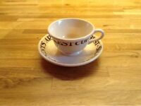 Emma Bridgewater dollies cup and saucer.