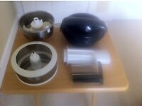 For Sale: Magimix Juicer, Citrus Press and Mas and Puree Kit
