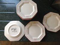 Madison side cake plates