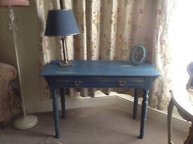 Hall table painted