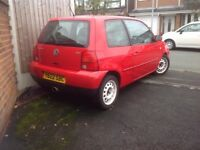 2001 Volkswagen Lupo Sport 100BHP - Spares / Repair
