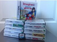 Selection of Nintendo DS Games.