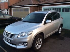 Toyota RAV4 2.2 D-4D XT-R, 2WD, 150BHP, Full Toyota SH - just serviced, excellent condition