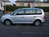 VW Touran 1.9 TDI. Low mileage. FSH. 7 seat.