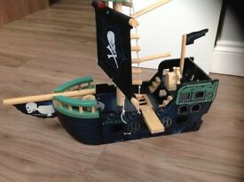Fab gltc Wooden pirate ship