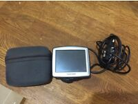 Tom Tom ONE with charger and case