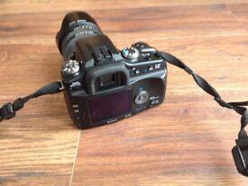 Sony camera DSLR A100