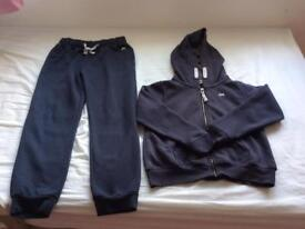 Next girls navy blue tracksuit age 10 years