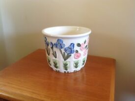 Beautiful painted plant pot