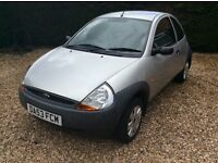 Ford ka mint condition full mot only 65k miles service history.