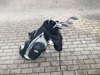Golf Clubs & Self Stand Bag