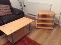 TV Corner unit & Coffee table to match