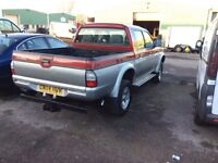 Mitsubishi l200 double cab full leather