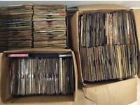 Job lot vinyl singles