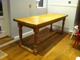 'Antique' Pine Dining Table