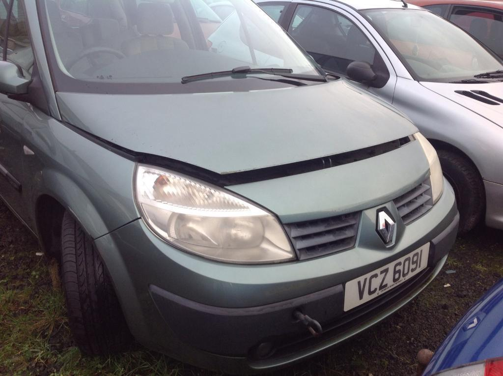 2004 RENAULT SCENIC EXPRESSION 16V 1,6 PETROL BREAKING FOR PARTS ONLY POSTAGE AVAILABLE NATIONWIDE
