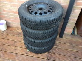 Mini tyres full set brand new