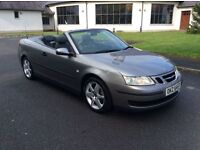 2005 Saab 9-3 1.8T Linear Convertible Excellent Condition Long MOT only £2250