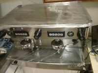Espresso Coffee Machine Iberital L'Anna 2 Group inc grinder inc water softner. Extra...