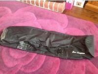 Ben Sayers golf travel bag, standard size, black