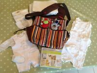 Skip Hop Changing Bag and Newborn Bundle