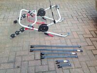 Bike rack Halford's new hold three bikes
