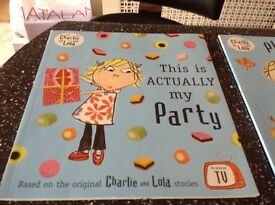 Charlie and Lola children's books