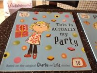 Charlie and Lola children's books