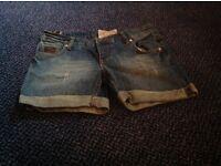Superdry denim shorts