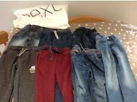Seven pairs of Next trousers age 5yrs