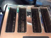 Logic 4 slice toaster new in box