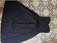 ASOS sun dress navy size 8