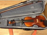 Stagg VN-4/4 violin with hard case