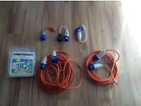 Various Caravan or Motorhome Cables sold individually or a job lot