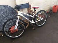 Python mountain bike , pedal bike MUST LOOK