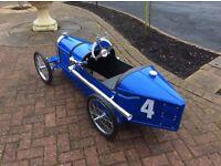 Bugatti pedal car
