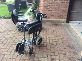 Push wheelchair