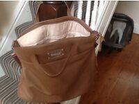 Tan Grace Babymel Changing Bag Unused & Mat