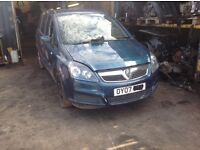 Vauxhall Zafira 07 plate Z16XE1 44000 miles breaking for spares.