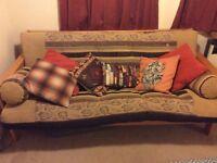 Sofa bed for sale. Double. Aztec design