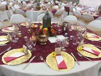 Wedding Morrocan/Asian Theme table decoration