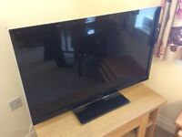 "Panasonic Viera Television, 37"" TV with remote & instructions"