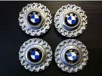 "Genuine bmw bbs centre caps for 16"" 90s 5 series Alloys"