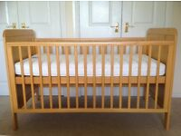 John Lewis Cot Bed, Excellent Condition