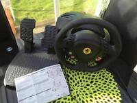 Thrustmaster Ferrari 458 Italia racing wheel